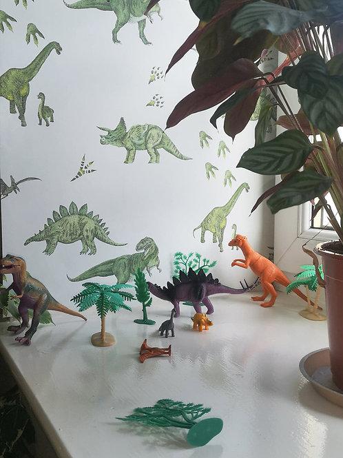 Dinosaurs (Ice White)