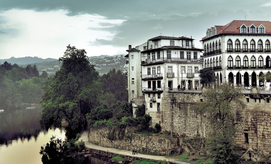 by_the_river_amarante_portugal-wallpaper