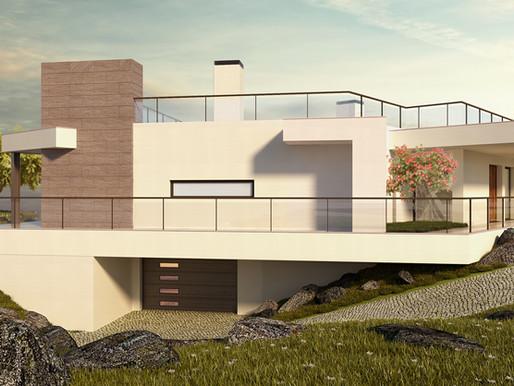 2 NEW BUILD LUXURY VILLAS FOR SALE IN VALE DA LAMA NEAR LAGOS, THE ALGARVE PORTUGAL