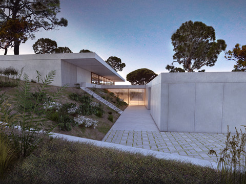Encosta House by RRJ Arquitectos