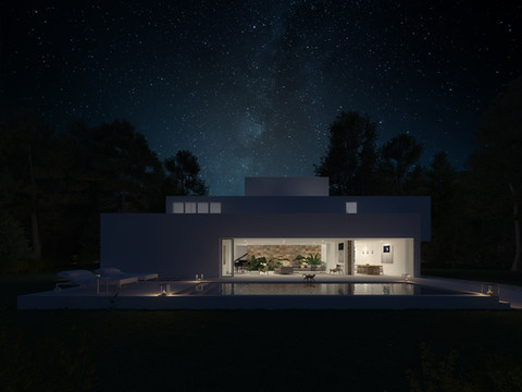House No 11 Meco by Martim Sousa e Melo (MSM)