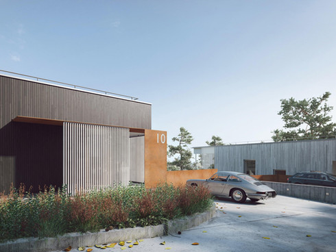 Pryus 9 + 10 by Strom Architects