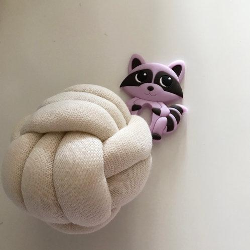 Balle d'éveil - anneau de dentition - Raton laveur