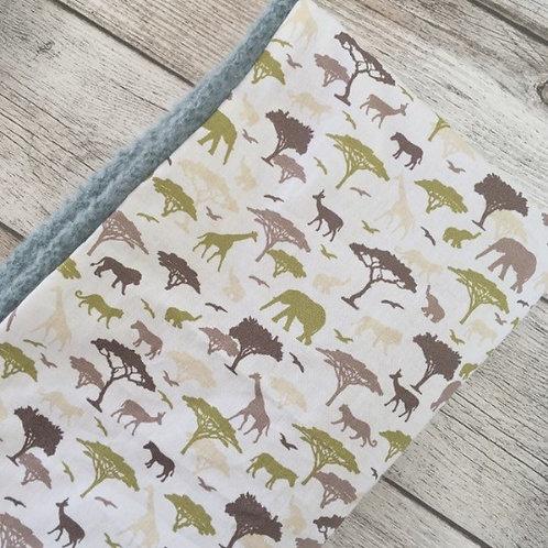 Couverture bébé savane/ Baby blanket savanna