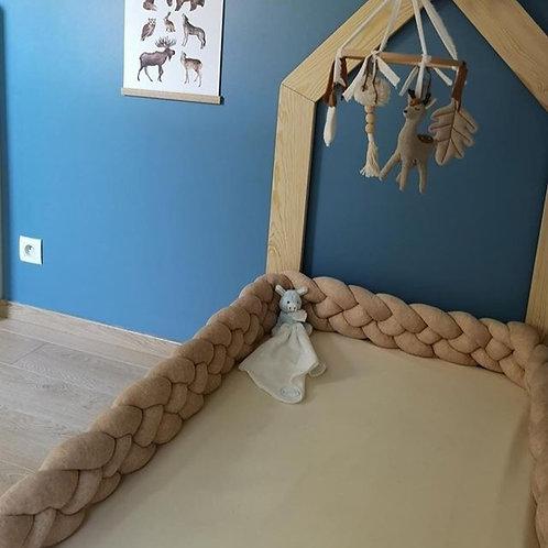 Tresse lit cabane / Braid bed hut