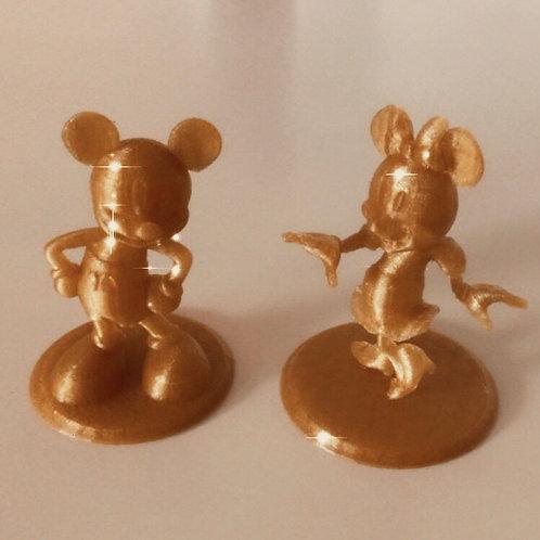 Figurine Decorative Mickey/Minie