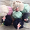 Thumbnail: Jouet bébé balle d'éveil bébé grelot/flamant rose/ Baby toy ball with bell