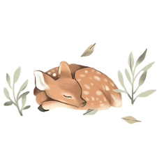 —Pngtree—a beautiful dreamy forest fawn_4444761.png