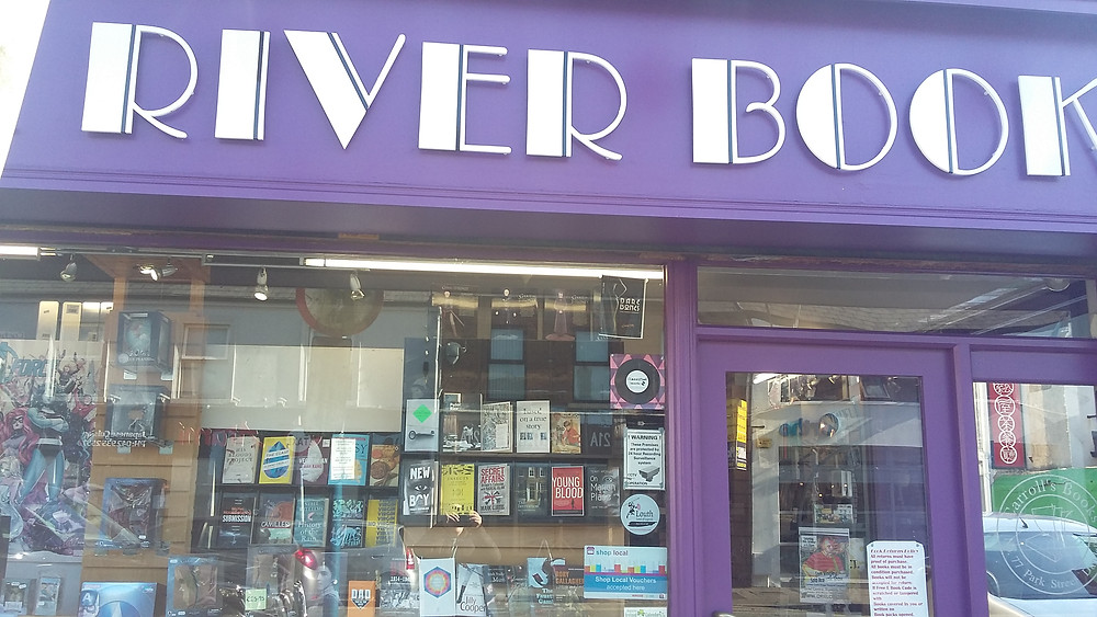 A big thank you to Tom and his staff at Roe River books for kindley agreeing to stock my crime thriller On Marian Place.