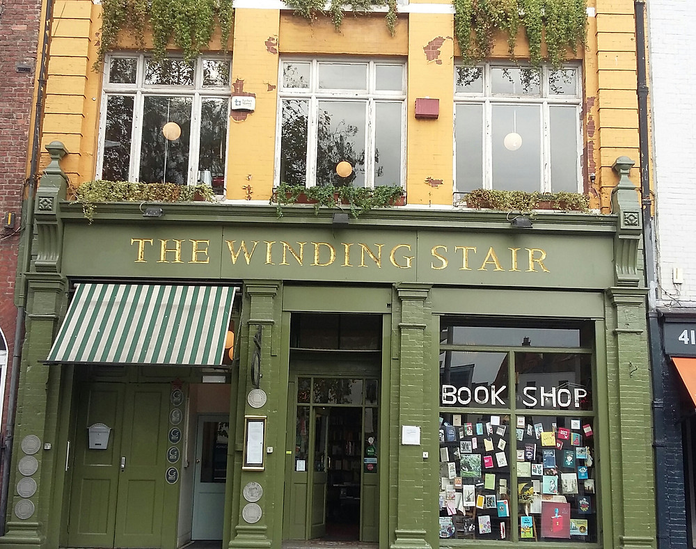 On Marian Place is now available to purchase from the Winding Stair Book shop Dublin, neighbouring the famous River Liffey.