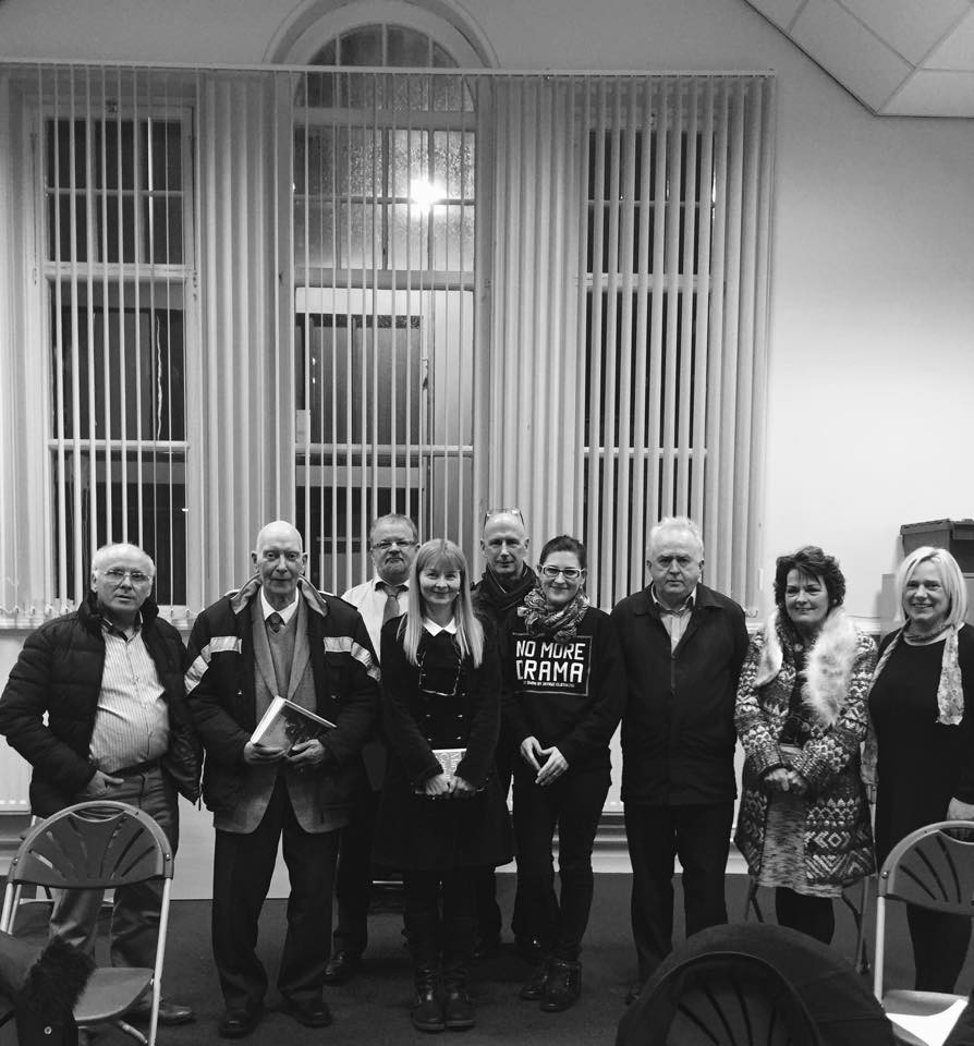 The Lough Neagh Writers shared the company of Irish author Mary Costello at Lurgan Town Hall. A wonderful evening was had by everyone. Mary read some of her work, and spoke of the difficulties a writer goes through before eventually having their work published.