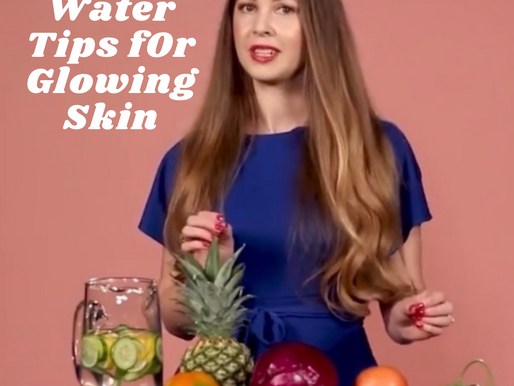 Healthy Water Tips For Glowing Skin