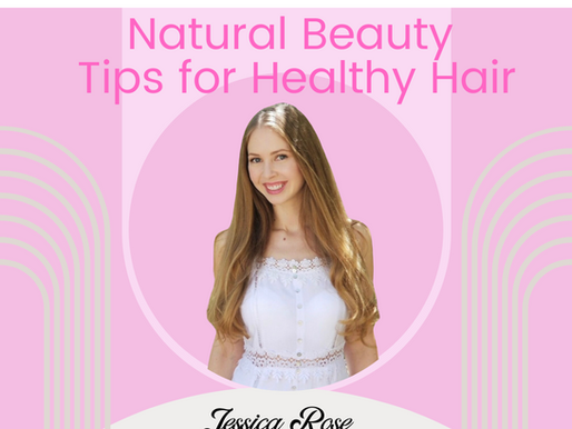Natural Beauty Tips For Healthy Hair