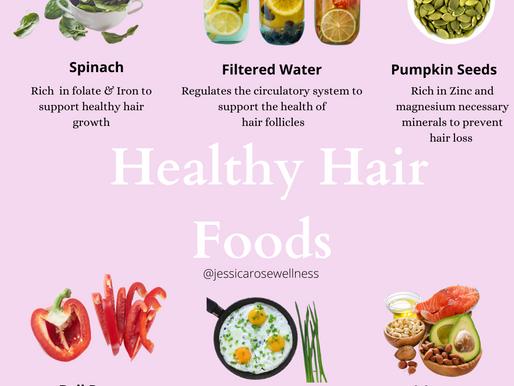 Healthy Hair Foods