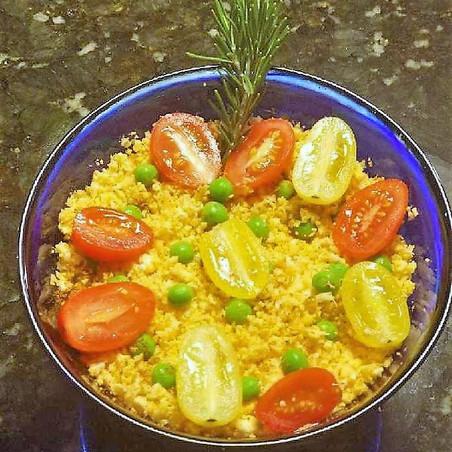 Curry Cauliflower Rice