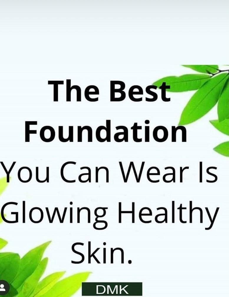 The best foundation you can wear is glowing healthy skin.