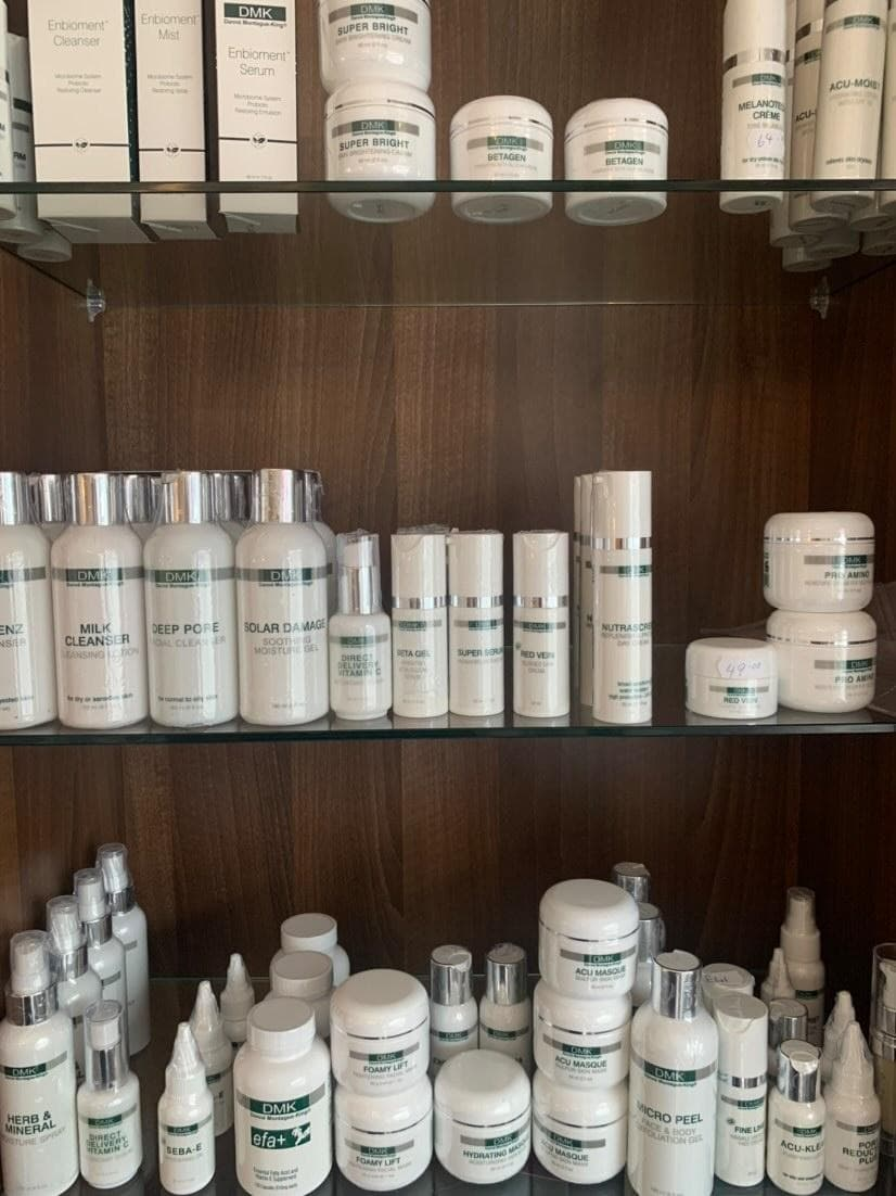 Skincare available