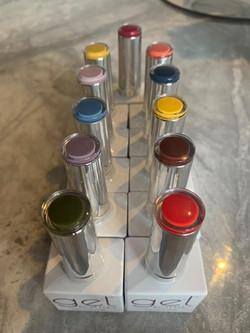 Gelish colour palette