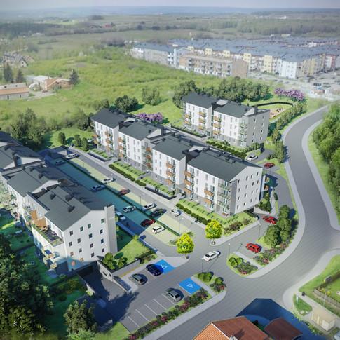 Nowe mieszkania Gdańsk Południe Borkowo Kowale deweloper Necon
