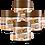 Thumbnail: KIT 4 PASTAS DE AMENDOIM CHOCOLATE BRANCO 505g