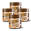 Thumbnail: KIT 4 PASTAS DE AMENDOIM CHOCOLATE BELGA 505g