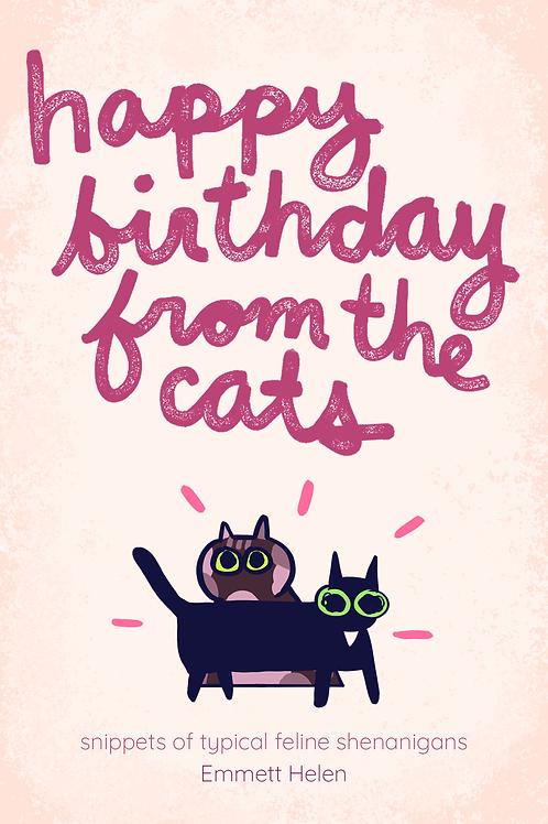 Happy Birthday From The Cats - Digital Zine