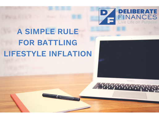 A Simple Rule for Battling Lifestyle Inflation