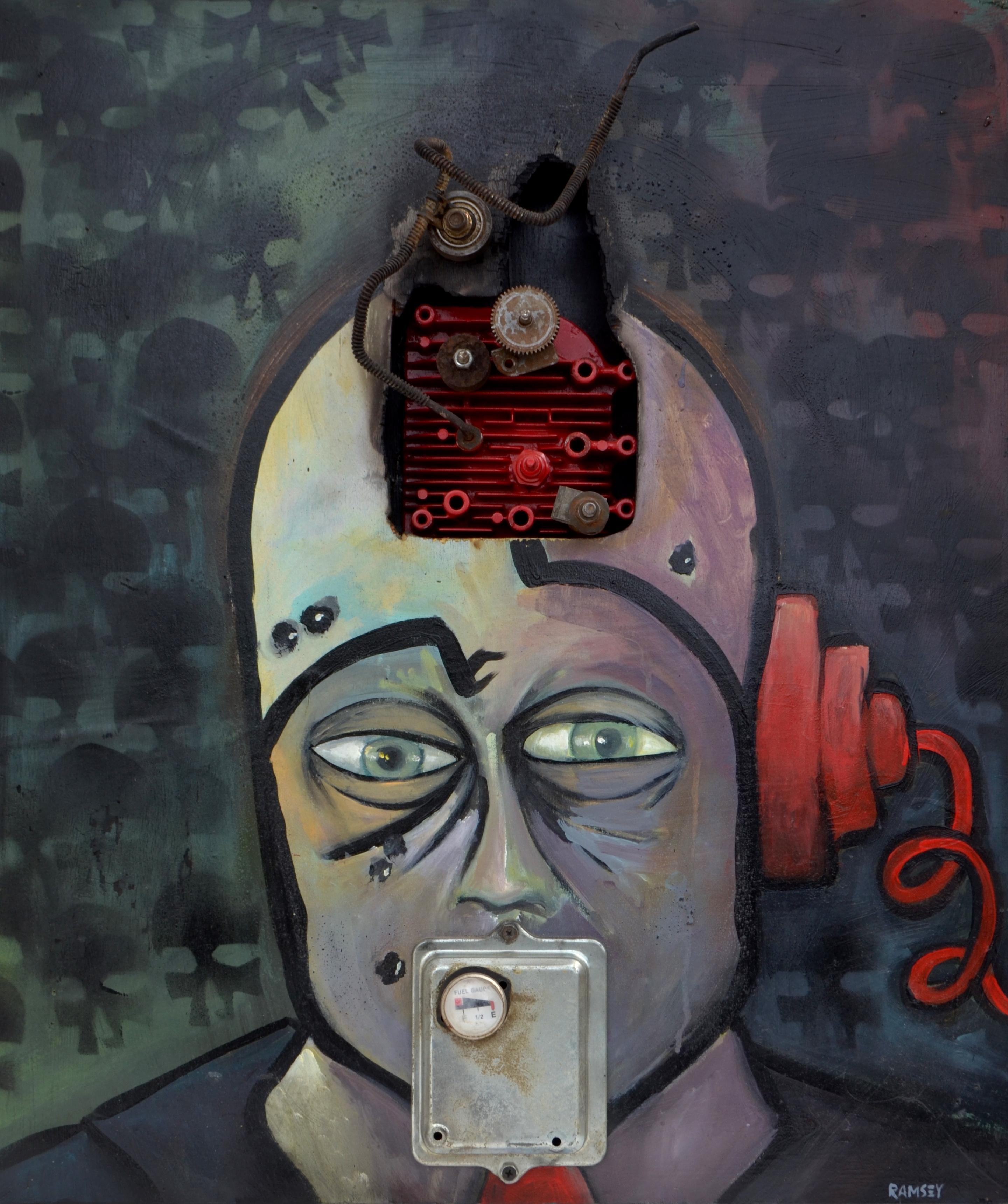Political Machine Masking As A Man