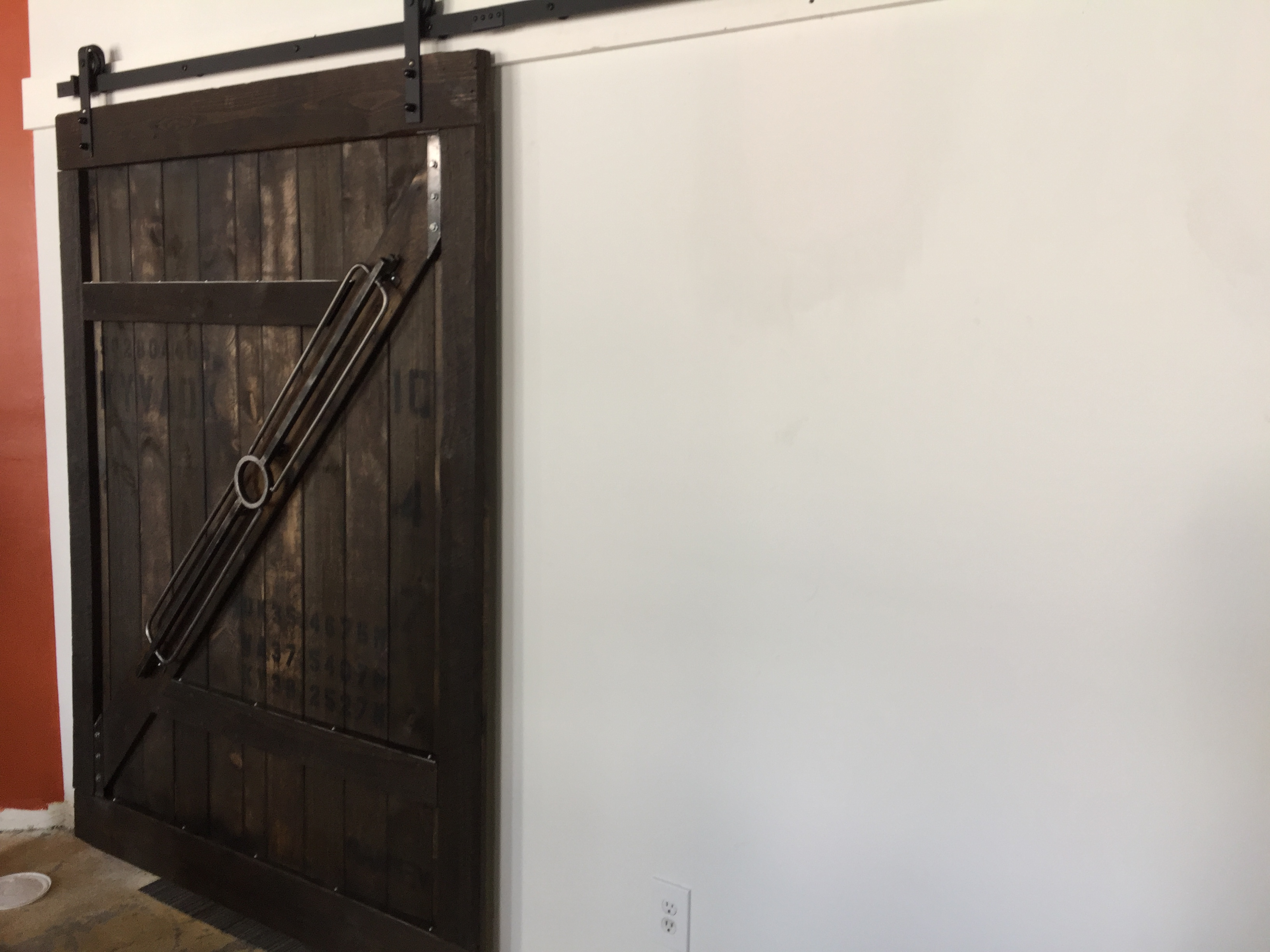 Custom Large Sliding Barn Door