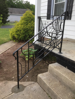 Custom Porch Railing