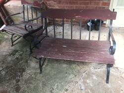 Garden Bench & Chair Refurbish