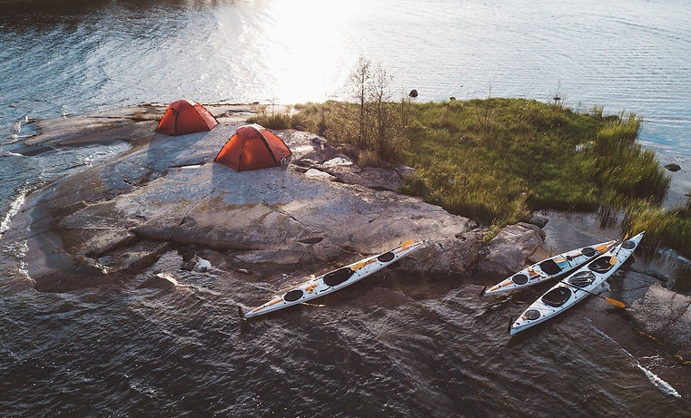 Kayak-Wild-Camp-Swedens-Saint-Anna-Archi