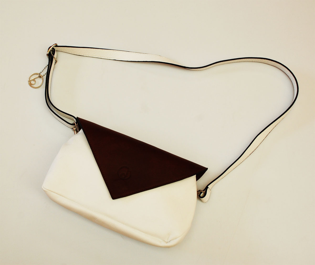 Pochette-Nina-summer16-bianco-marrone-4