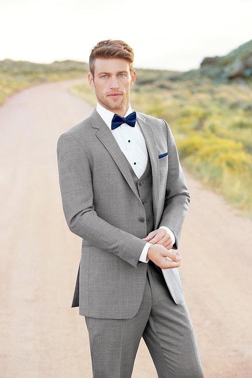262 - Ultra Slim Heather Grey Clayton Suit