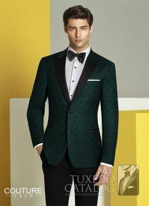 C1046 - Green Chase Tuxedo