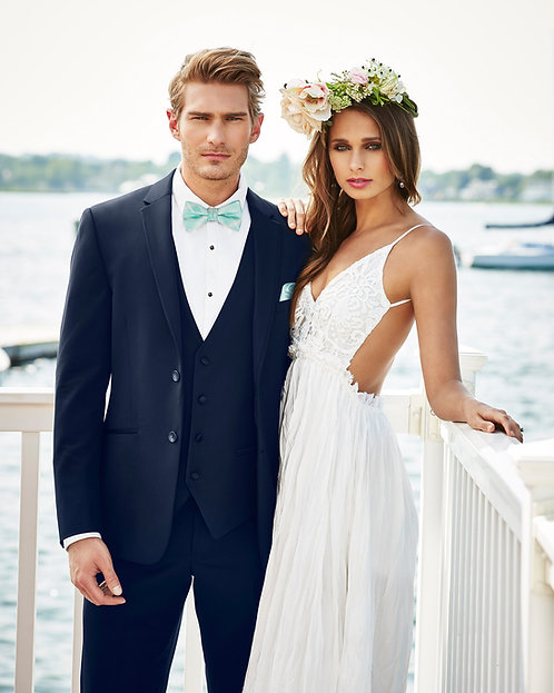 372 - Navy Sterling Wedding Suit