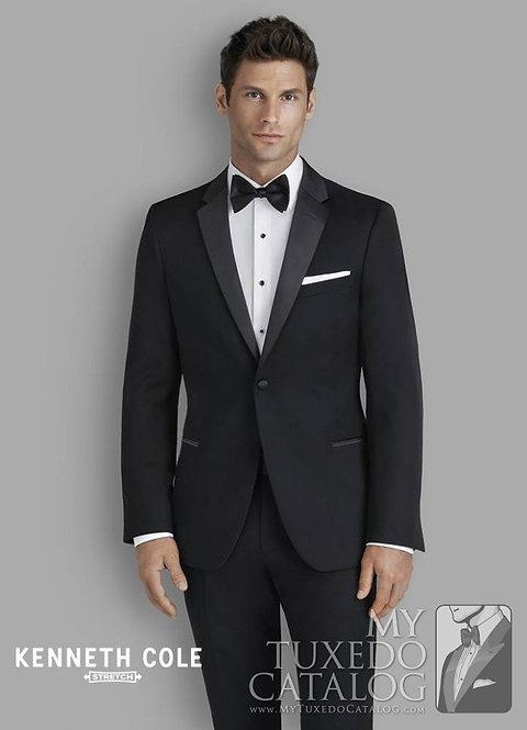 C1059 - Black Stretch Parkville Tuxedo