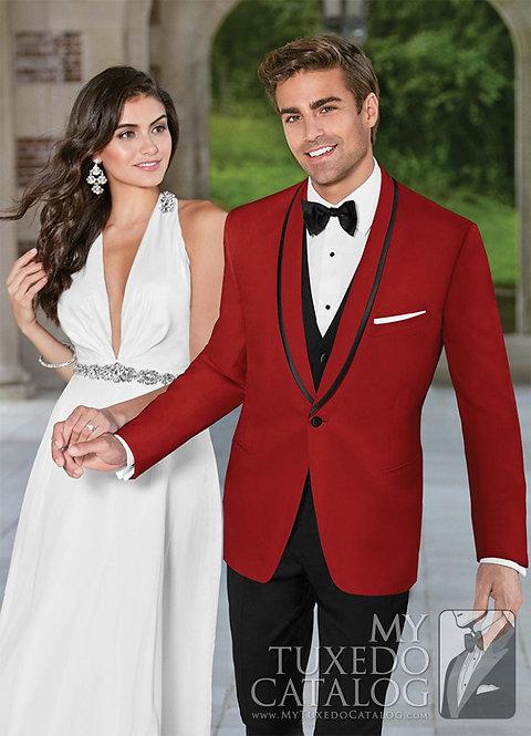 C1025 - Red Carmine Tuxedo