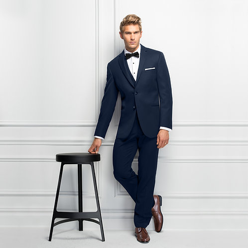 371 - Ultra Slim Navy Sterling Wedding Suit