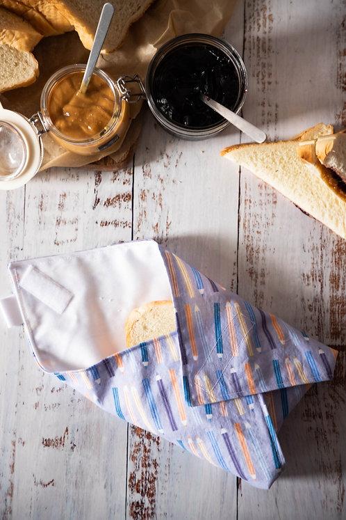 Sandwich wrap - Crayons à colorier