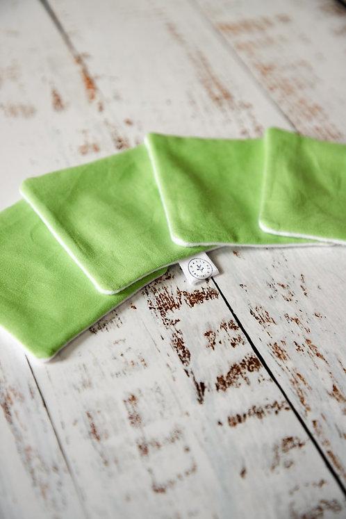 Cotons démaquillants - Lime