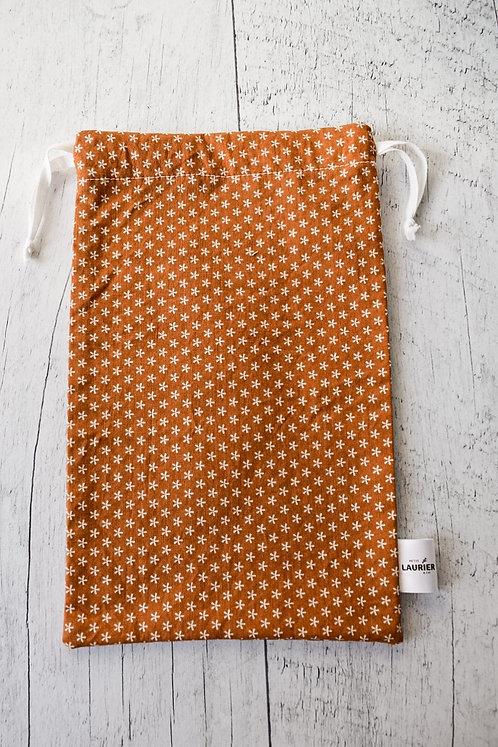 Sac réutilisable - Orange brulé
