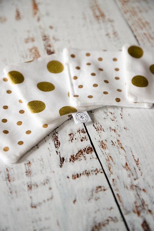 Cotons démaquillants - Pépitte d'or