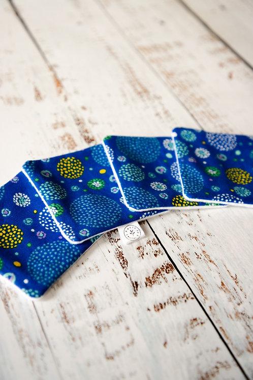 Cotons démaquillants - Feux d'artifices (bleus)