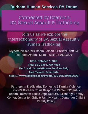 2019 Durham Human Services DV Forum Flye