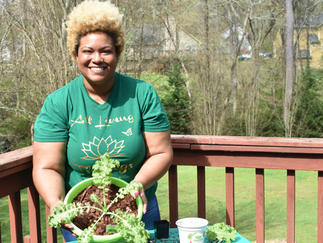Urban Farming with                All Living Things