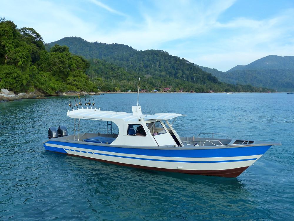 Bluesails Sportfishing's New Boat