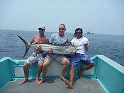 Another black marlin, Tioman
