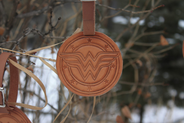 Wonder Women Bag Tag