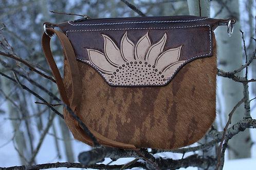Sunflower Wristlet/Clutch